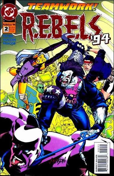 R.E.B.E.L.S. (1994) 2-A by DC