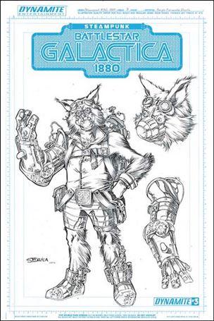 Steampunk Battlestar Galactica: 1880 3-C