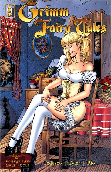 Grimm Fairy Tales (2005) 9-A by Zenescope Entertainment
