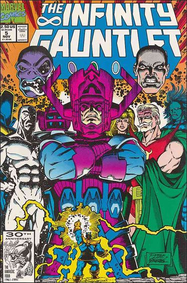 Infinity Gauntlet (1991) 5-A by Marvel
