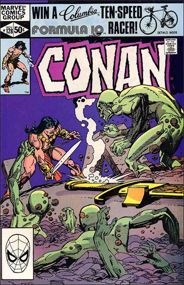 Conan the Barbarian (1970) 128-A by Marvel