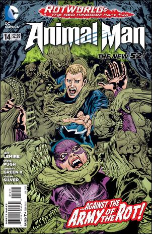 Animal Man (2011) 14-A by DC