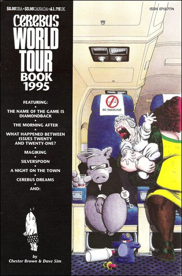 Cerebus World Tour Book 1995 1-A by Aardvark-Vanaheim